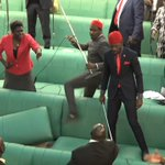Blows Take over Parliament of Uganda over #AgeLimit, Several MPs Arrested