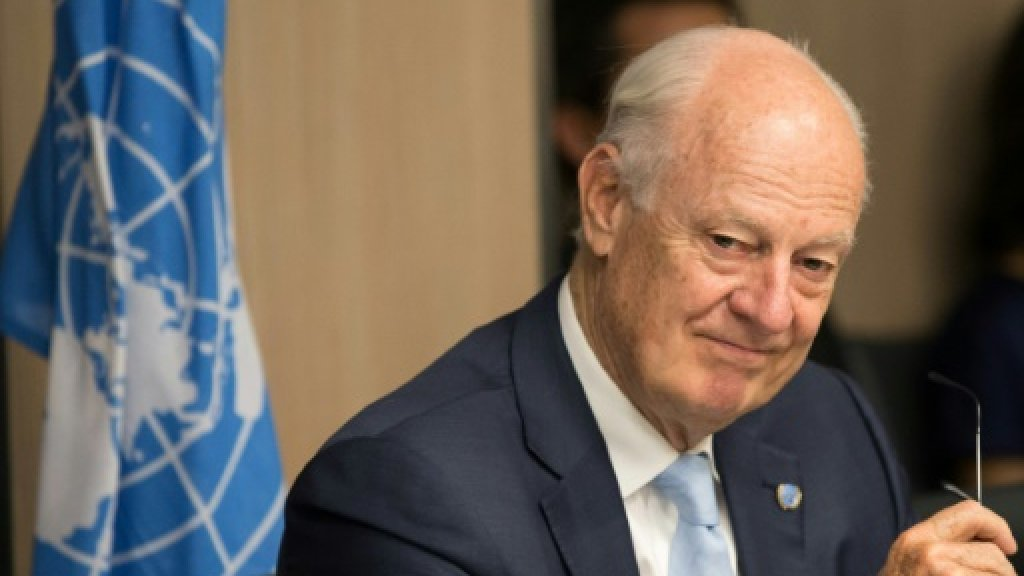 De Mistura wants new round of Syria talks in coming weeks