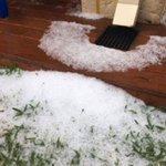 Hail hits Perth as 'Melbourne weather' sets in for Grand Final weekend