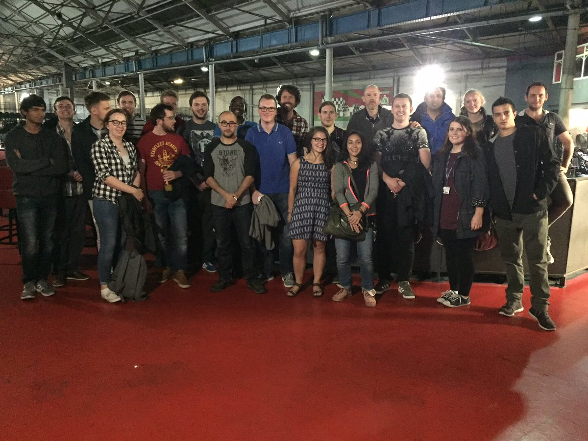 test Twitter Media - The #CDTSIS team photo from our Cohort Bonding Induction activity - Go Karting @karting in Eastleigh. Thanks to everyone for coming! https://t.co/Aq3TZJdF2L