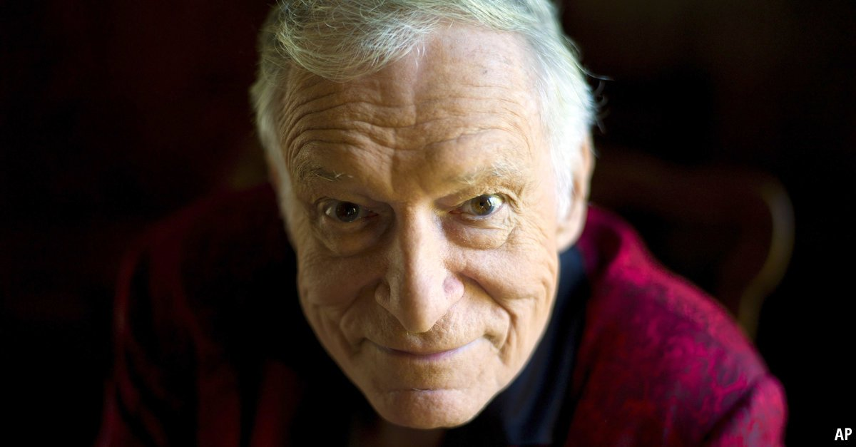 Playboy's Hugh Hefner and the maturing of the porn business