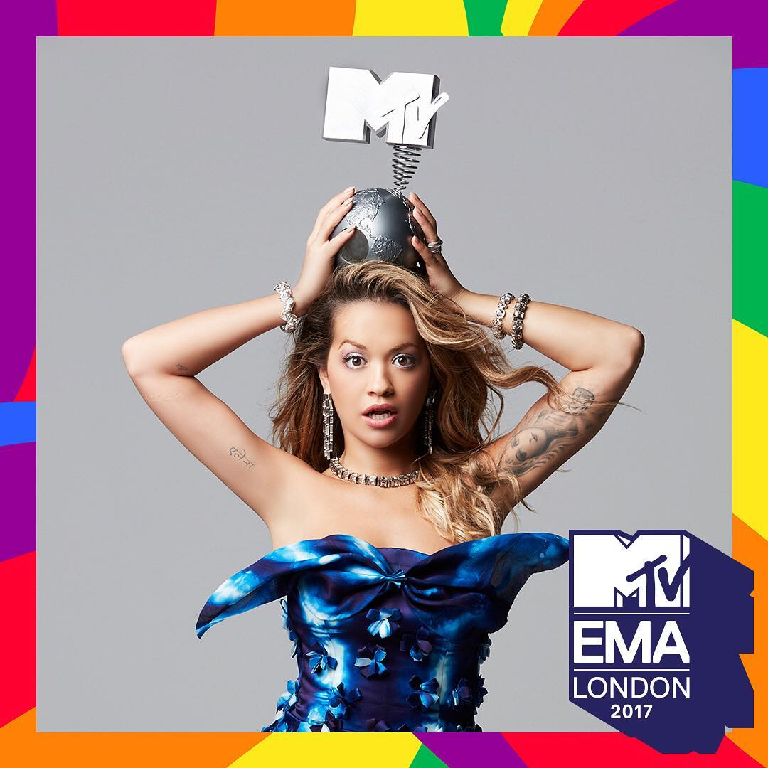 RT @thefader: .@RitaOra will host the 2017 MTV EMAs. https://t.co/rmJJ02M4UI https://t.co/pbGvd1T7dM