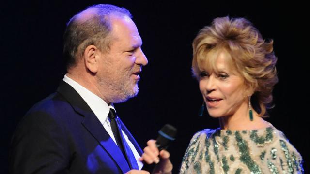 Jane Fonda: I'm 'ashamed' I didn't speak out about Harvey Weinstein sooner https://t.co/RwpJ90ufdd https://t.co/YtA6n8pjEv