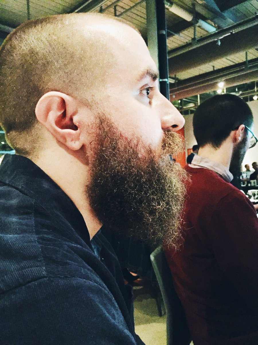 @ScottCovelli Pretty sure this is at least the 2nd best beard in the business. #mke99 @andyparmann miss you beau! https://t.co/ogD8XoGTNo
