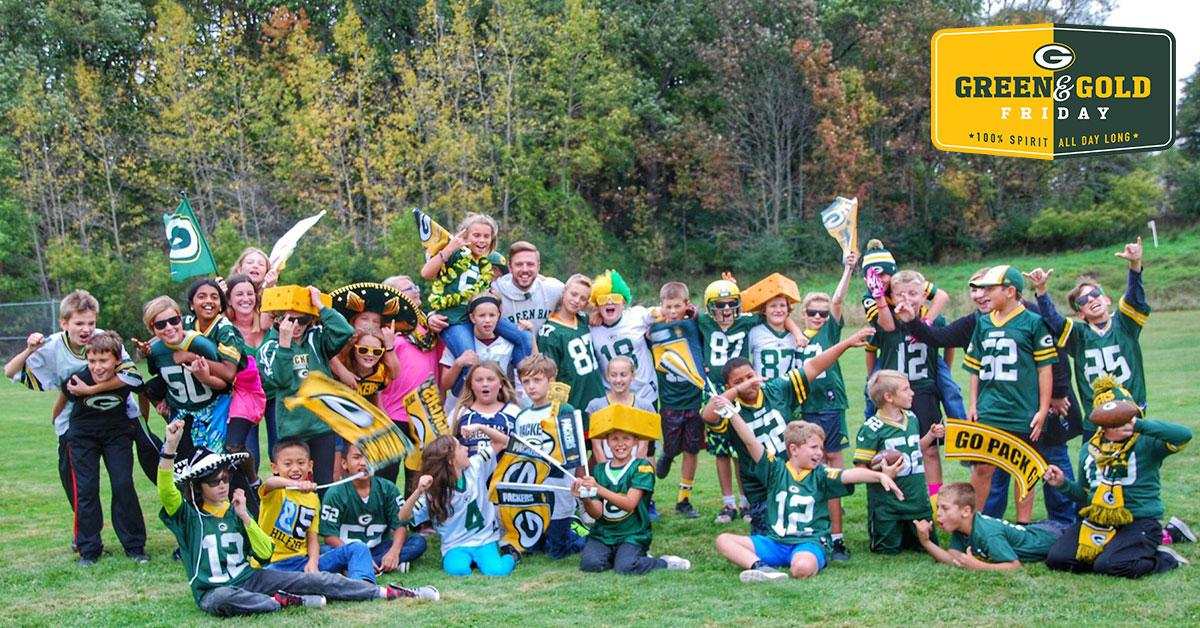 Get hype, tomorrow is Green & Gold Friday! ��  #GGFriday ����: https://t.co/2E4MzaeA56 https://t.co/Ld4kF45UKB