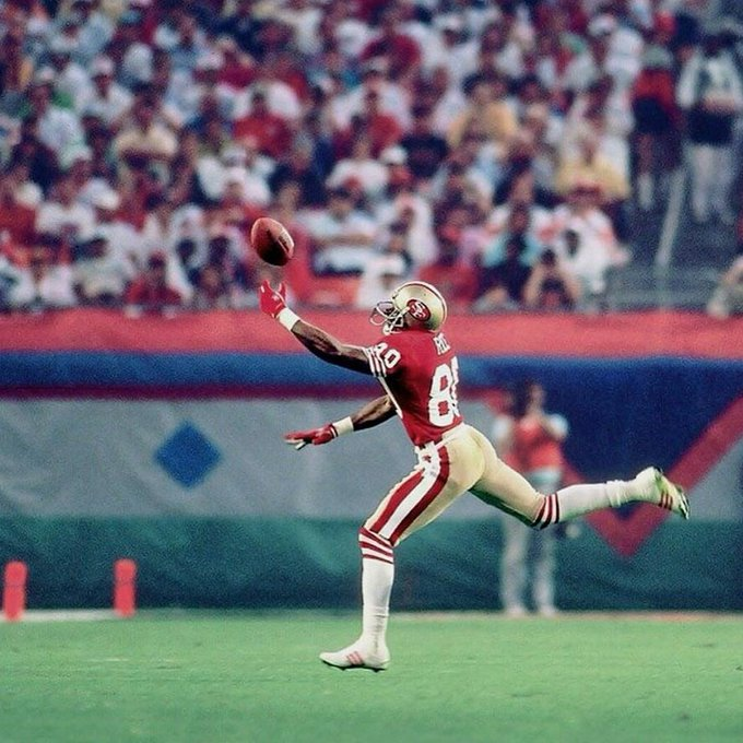 Happy birthday to the G.O.A.T wideout Jerry Rice!