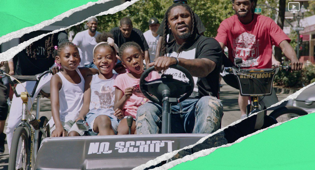 Come ride with Marshawn this season on #NoScript https://t.co/OQoG6JK3d7