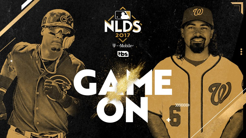 Are you ready? @Cubs-@Nationals #NLDS Game 5 is here!  Don't miss one pitch on @TBSNetwork: https://t.co/9w4TBlCbT9 https://t.co/Dy471Qjm2Q