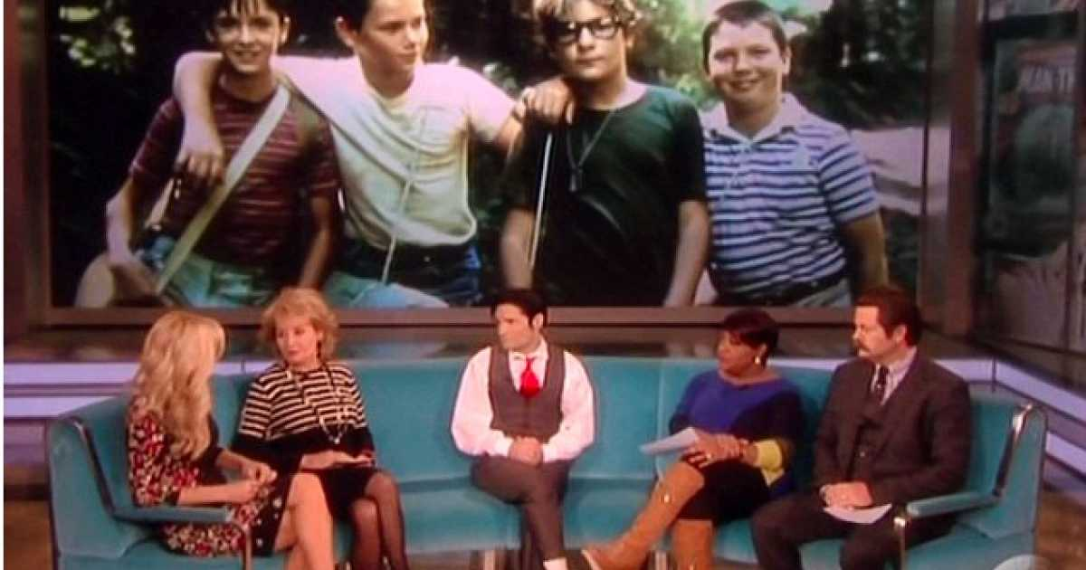 Flashback Video: Barbara Walters Scolds Corey Feldman For Calling Out Hollywood Pedophilia https://t.co/d7A3srl1XQ https://t.co/YPXynkZWB2