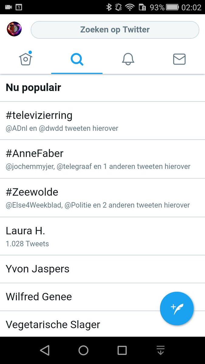 Erg hoor !?! #televizierring is alweer belangrijker dan #AnneFaber op #twitter https://t.co/nGD1LjYwJA