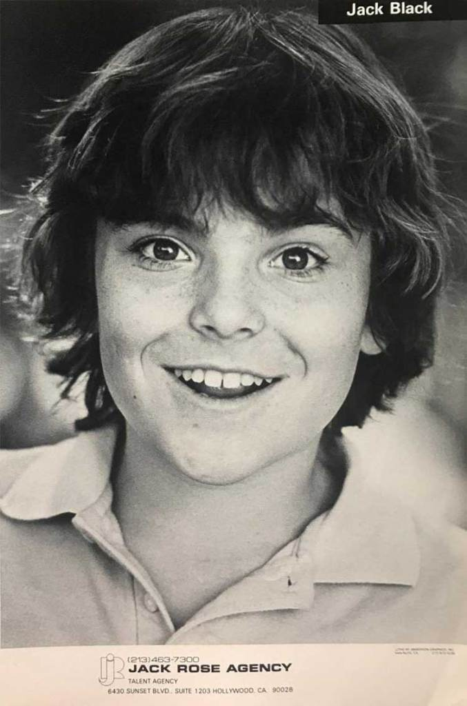 A young Jack Black's acting headshot. https://t.co/NsI42wr4CP