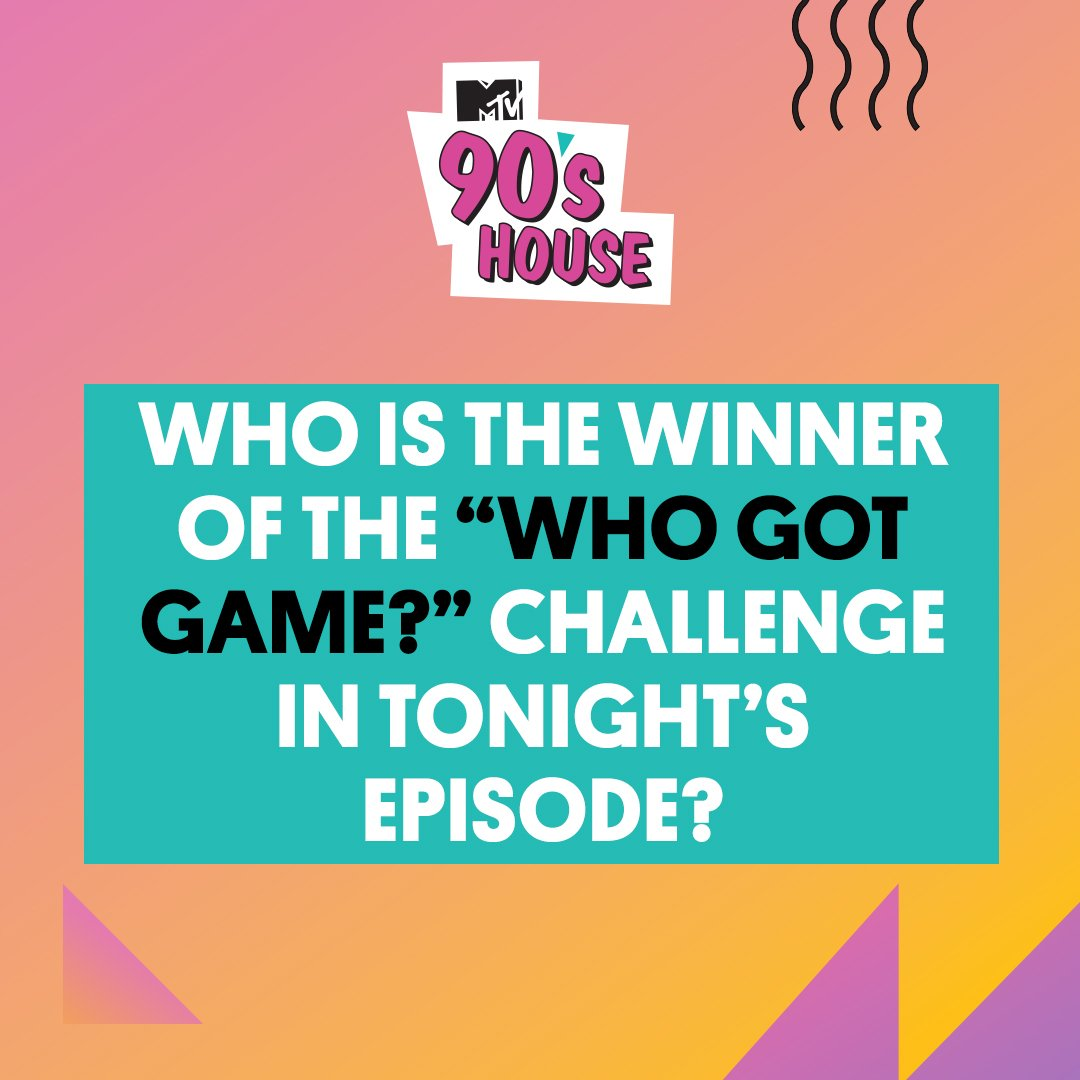 RT @MTV90sHouse: Pay close attention! Tweet us with your answer when you've got it with #90sHouse and #Sweepstakes! https://t.co/bnkUaedqJS
