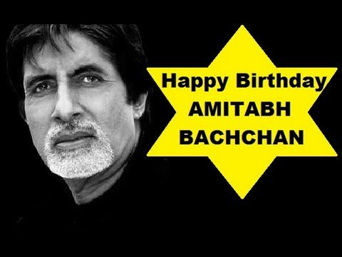 Great Prosonalty AMITABH BACHCHAN Sir Ji Happy 75th BIRTHDAY
