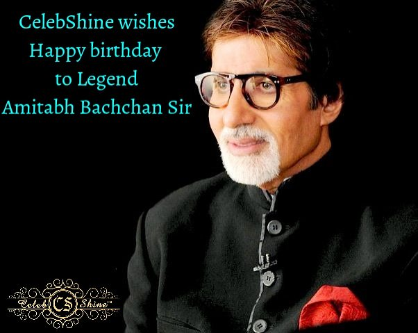 Wishing you a day that is as special in every way as you are!  Happy birthday to you Amitabh Bachchan Sir.