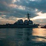 U.S. Navy destroyer sails near China-claimed South China Sea islands