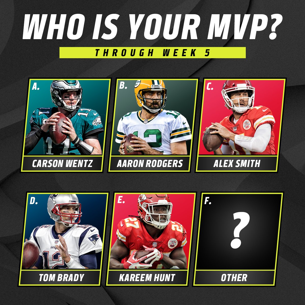 Who ya got? �� https://t.co/aX6g4kc3NS