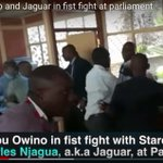 Two MPs fight in Parliament