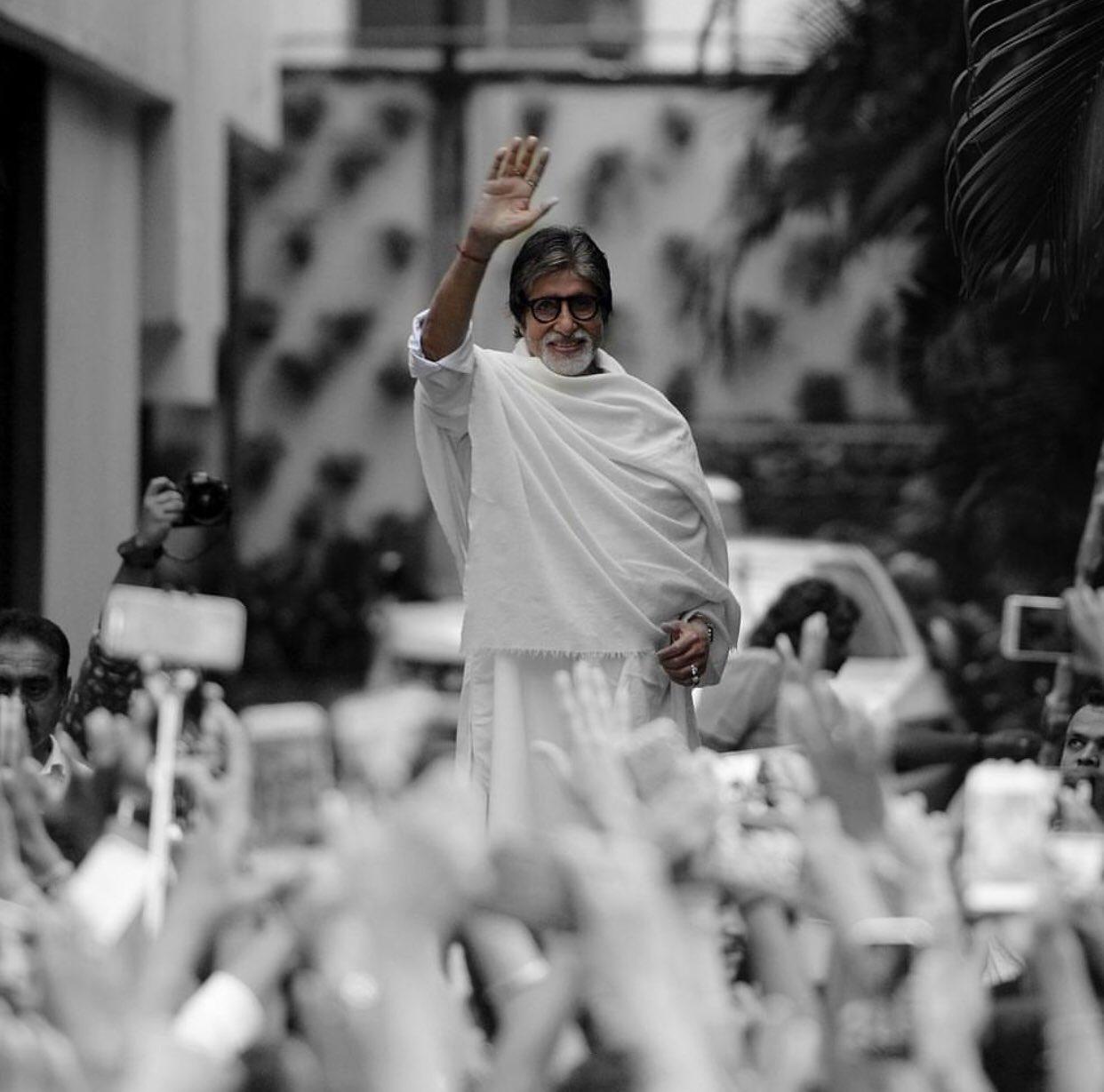 Happy birthday Amitabh Bachchan sir
