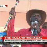 Rift Valley residents call for swearing in of Uhuru Kenyatta