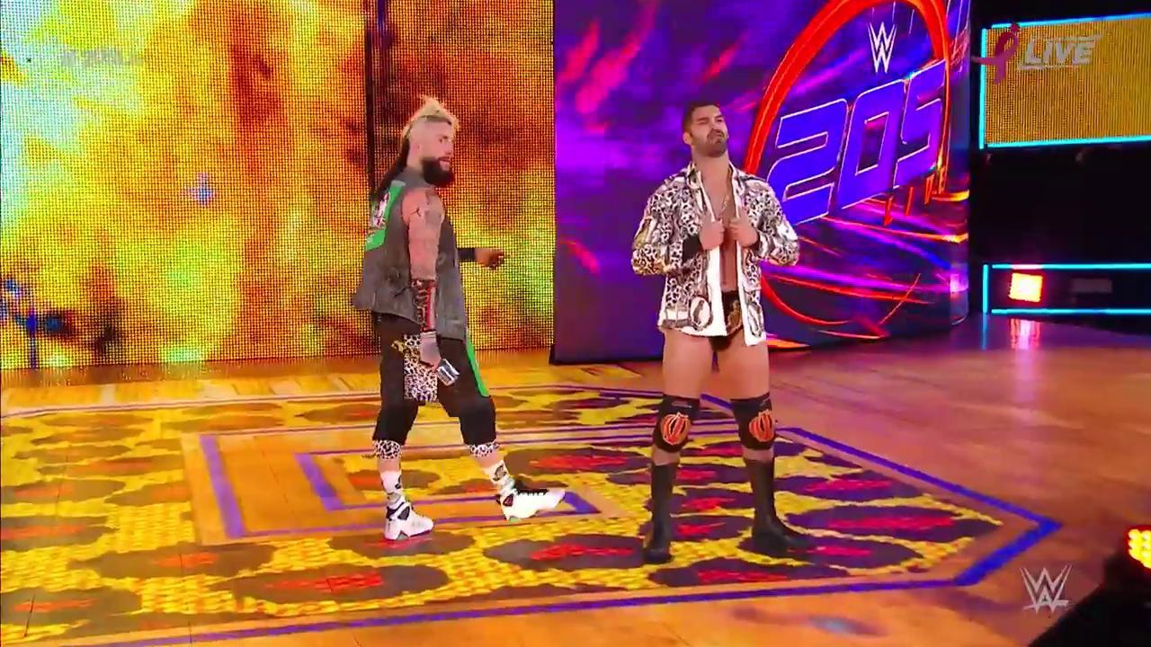 Look who's crashing @KalistoWWE's party...  @real1 is HERE, and he's not alone! #205Live @AriyaDaivariWWE https://t.co/irhKZtmAoa