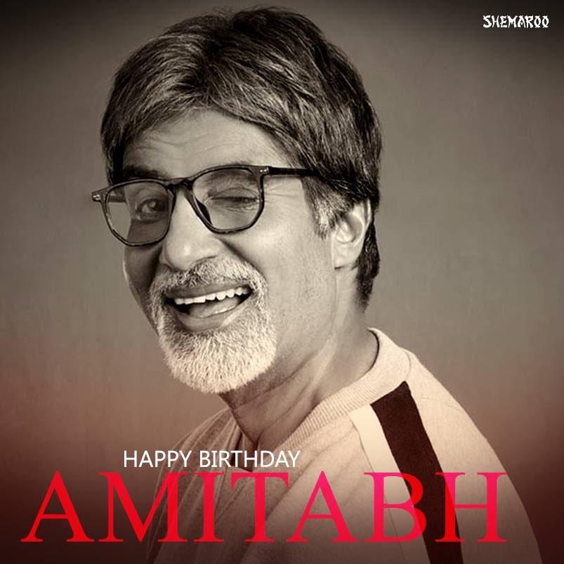 Happy Birthday sir @ Amitabh Bachchan