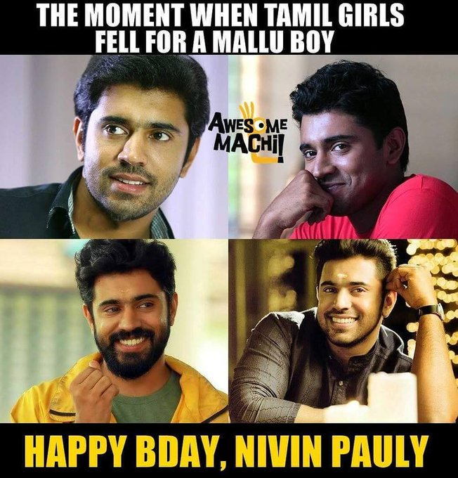 Happy Birthday, Nivin Pauly   !!