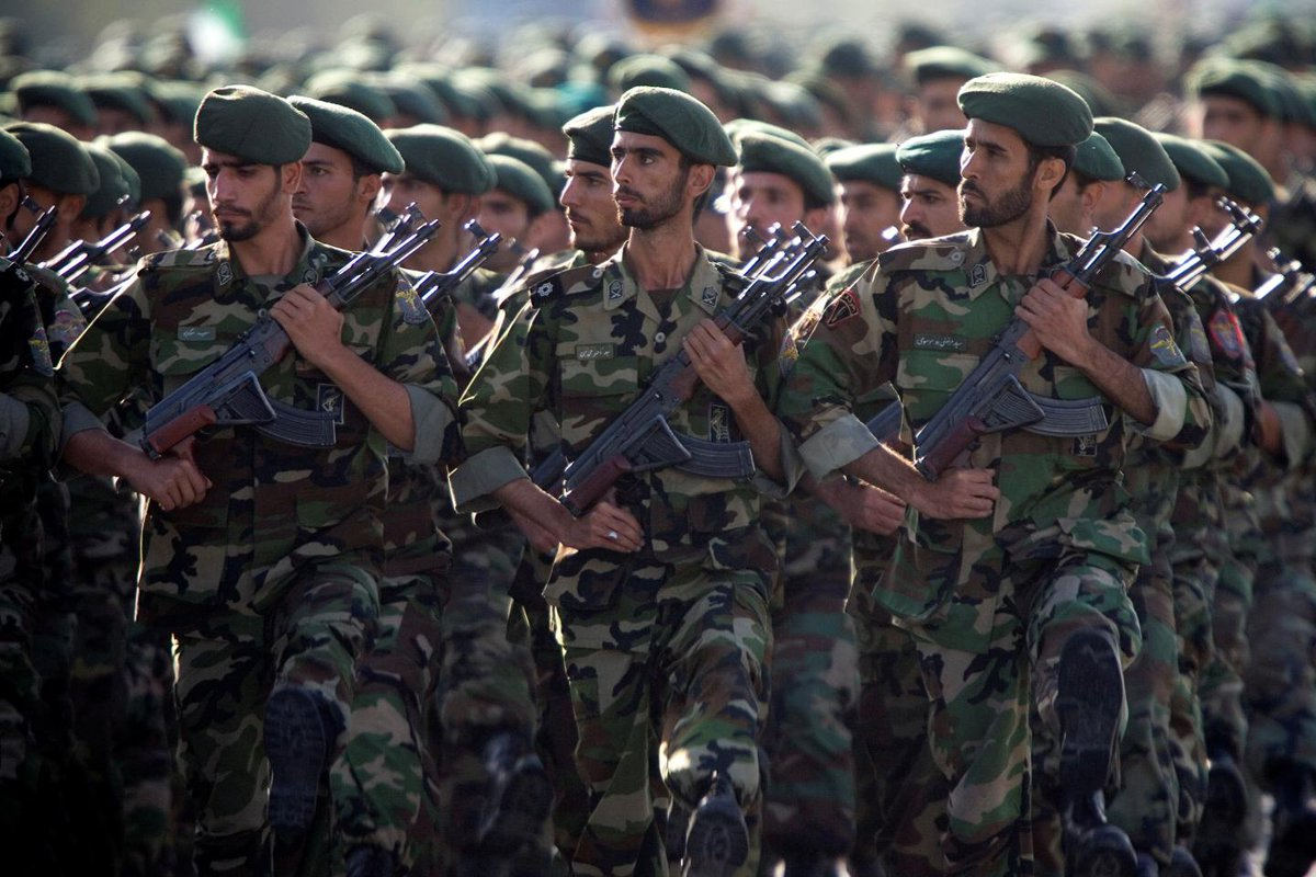 Iran's Revolutionary Guards say they'll treat U.S. like ISIS if Trump calls them terrorists
