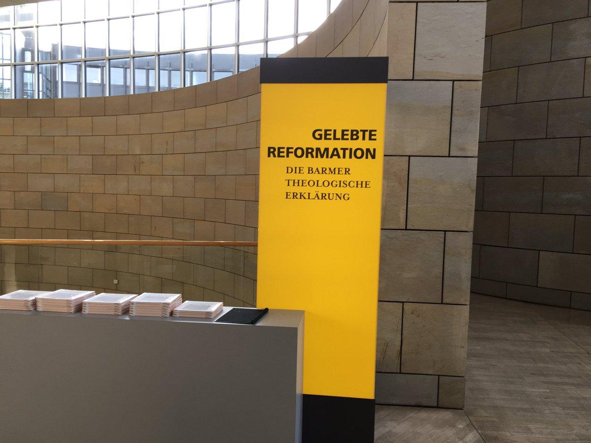 test Twitter Media - Ausstellungseröffnung zur Barmer Theologischen Erklärung in der Besucherhalle des Landtags - jetzt Plenum. https://t.co/2EwfVyr2cv