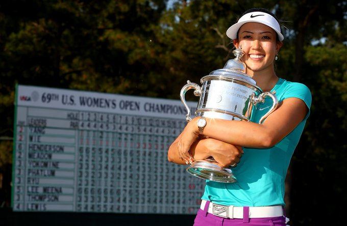 Happy birthday to Michelle Wie, born in in 1989 - she started playing golf when she was just ten!