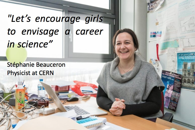 Happy #DayoftheGirl ! Read the stories of our inspiring #womenscientists https://t.co/UkBw980Xf3 #IWorkAtCERN https://t.co/0q2bPLek7S
