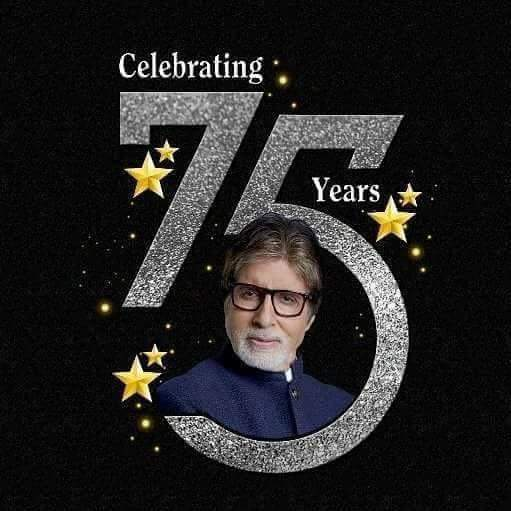Happy Birthday to Mr. Amitabh Bachchan