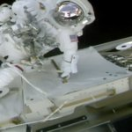 Greasing the palms: Spacewalkers give ISS robot arm's new hand a good lube job