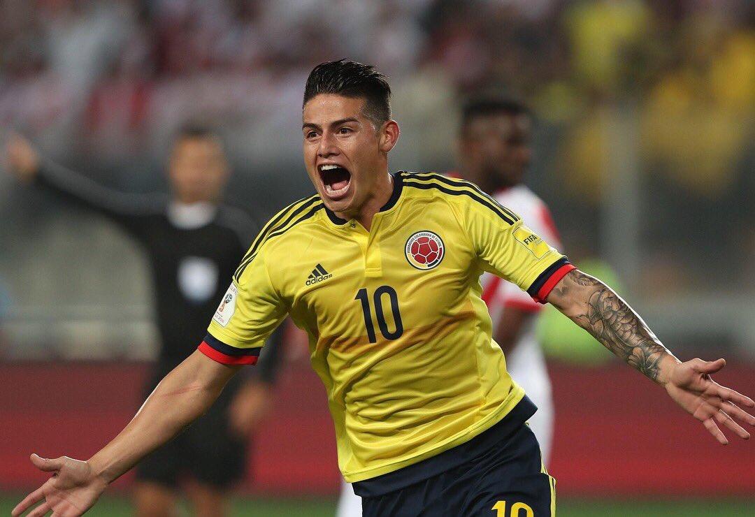 RT @jamesdrodriguez: Me enseñaron a NUNCA dejar de creer. Vamos mi Colombia querida  🇨🇴 https://t.co/gAuHkDDpDU