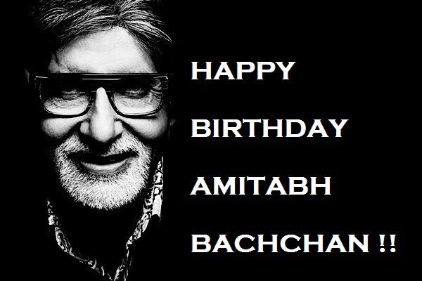 Happy Birthday to you Sir   Pai Lagu St Shree Amitabh Bachchan Ji !