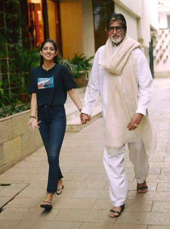 Wishing a happy birthday to Amitabh Bachchan sir