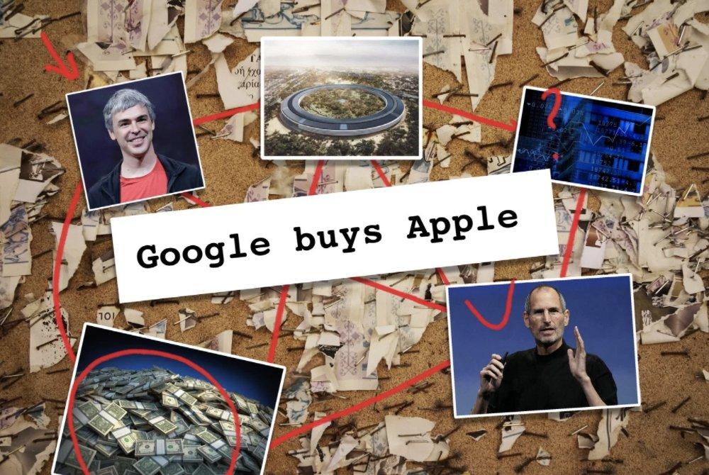 Dow Jones said that Google was buying Apple, the algos bought it https://t.co/mCXoQ5pPM5 https://t.co/CFrJvxXgzp