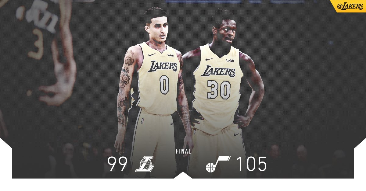 Big nights across the board, as Kuzma (18 pts), JC (18 pts), Randle (13 pts) & Caruso (10 ast) fill the stat sheet. https://t.co/DXb6sUZtpE
