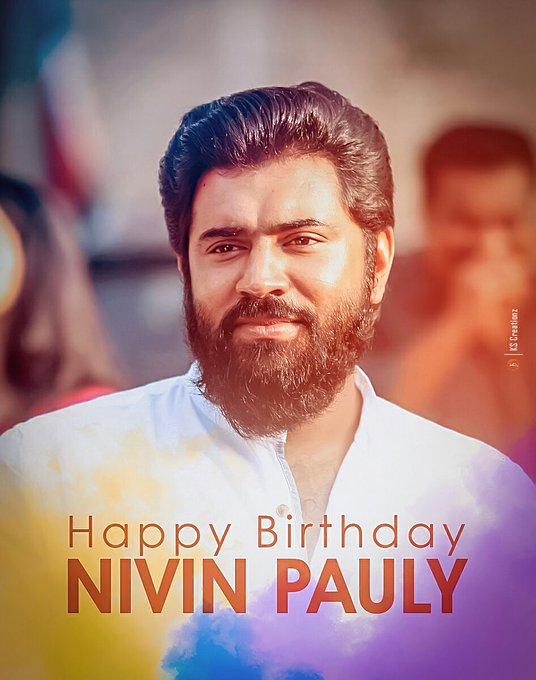 Happy birthday nivin pauly....
