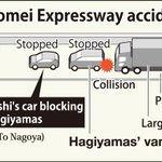 Man arrested for allegedly causing fatal Tomei Expressway crash