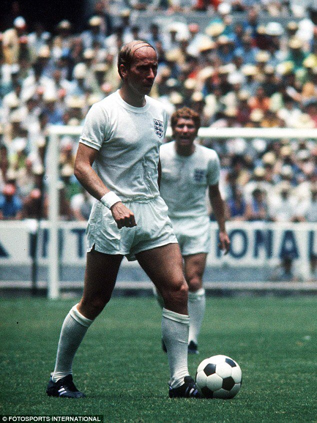 Happy Birthday Bobby Charlton. Rooney doesn t deserve to be mentioned in the same breath as this England Talisman.
