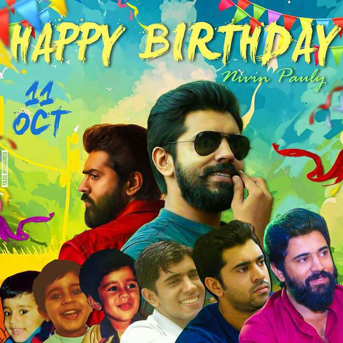 Happy birthday NIVIN PAULY