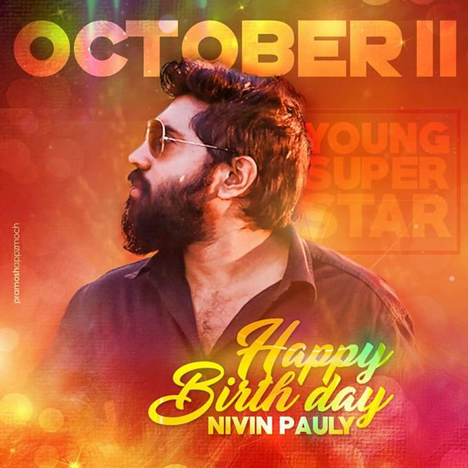 Nivin pauly happy birthday