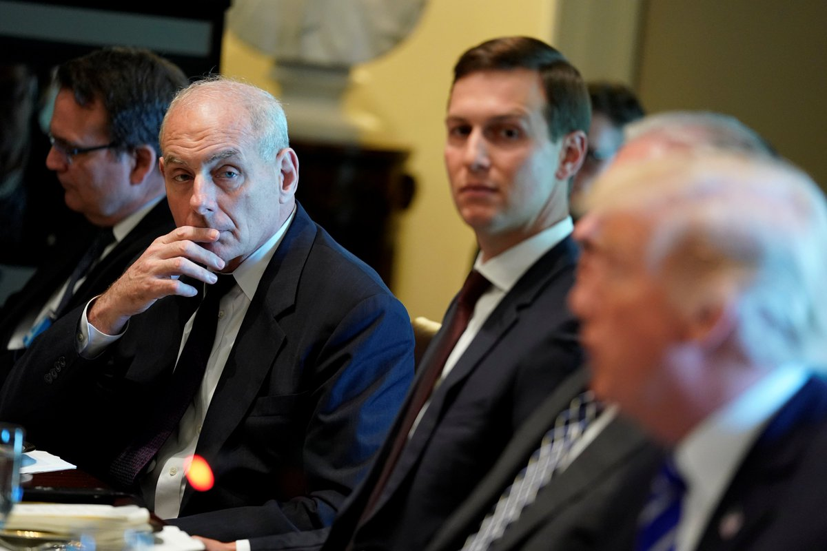 Chief of Staff John Kelly reportedly has a plan to stop Trump from dining at Mar-a-Lago