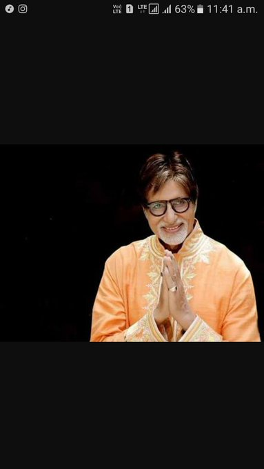 Happy birthday AMITABH BACHCHAN  75 year completed