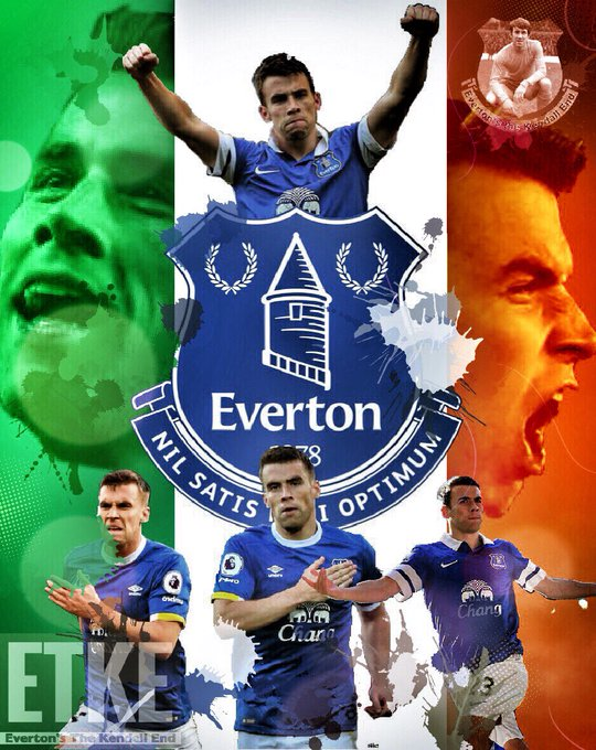 Good morning blues and also happy birthday to Seamus Coleman