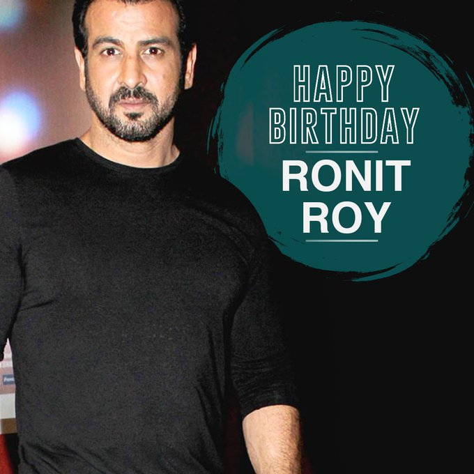 Here\s wishing the versatile actor, Ronit Roy, a very happy birthday!
