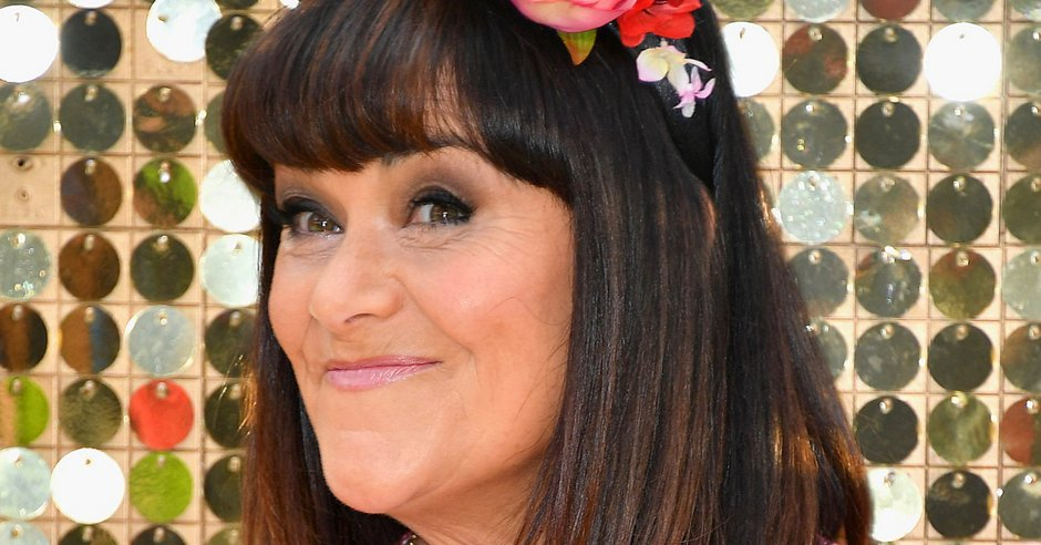 Dawn French celebrates 60th birthday with a huge Cornish pasty: