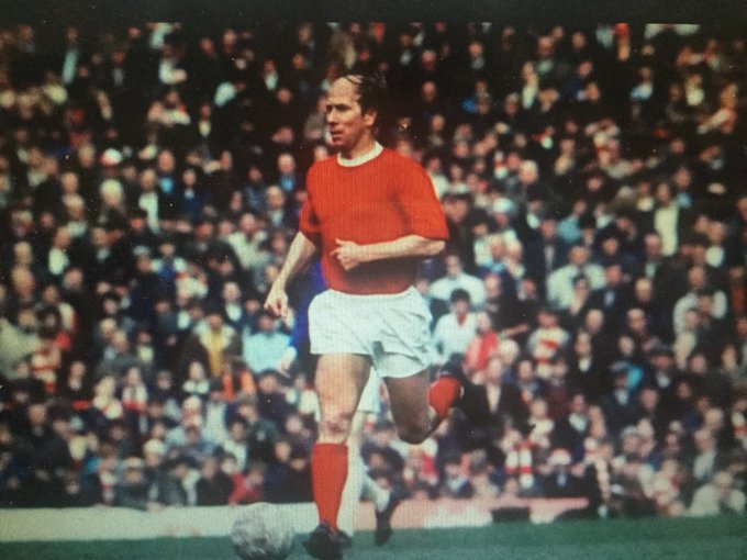 """Happy 80th Birthday Bobby Charlton! Coach told his team how to deal with United, \""""Then there\s Charlton, Best & Law\"""""""