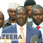 Kenya faces constitutional crisis as Raila Odinga quits election re-run