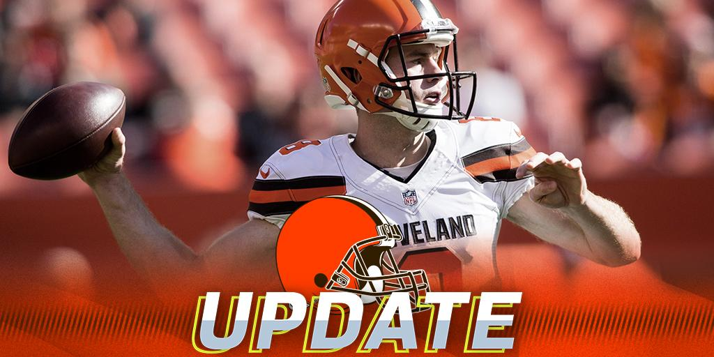 Browns announce starting QB for Week 5: https://t.co/PY1bwZomjN https://t.co/eEdTuwPzBo